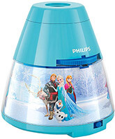 Philips Disney LED Projektor Tischleuchte Frozen, Cars, Dorie, Princess und Spiderman