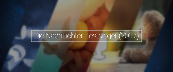 Featurebild - Die Testsieger Nachtlichter 2017